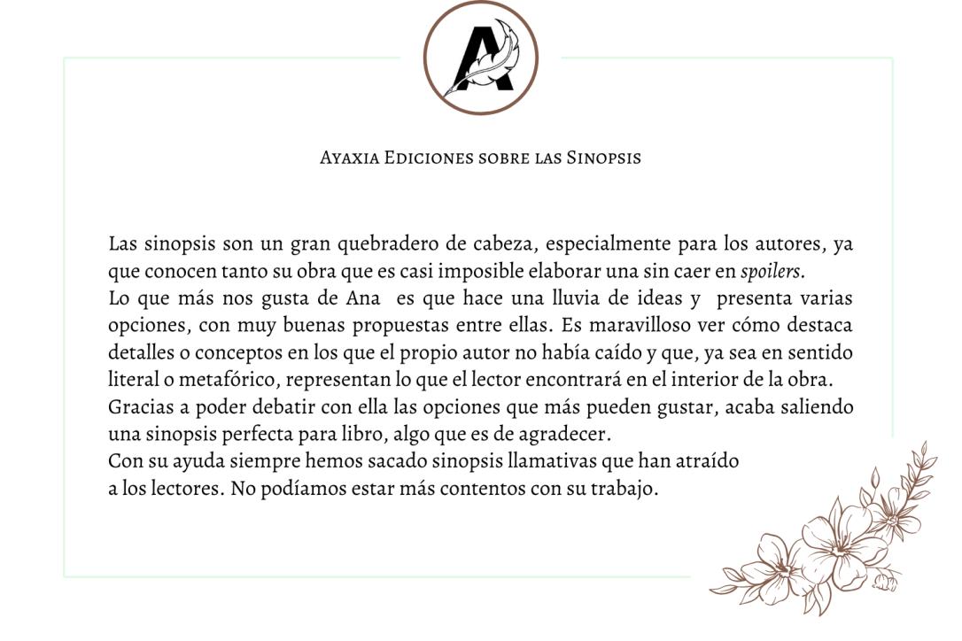 Ayaxia Testimonio Sinopsis