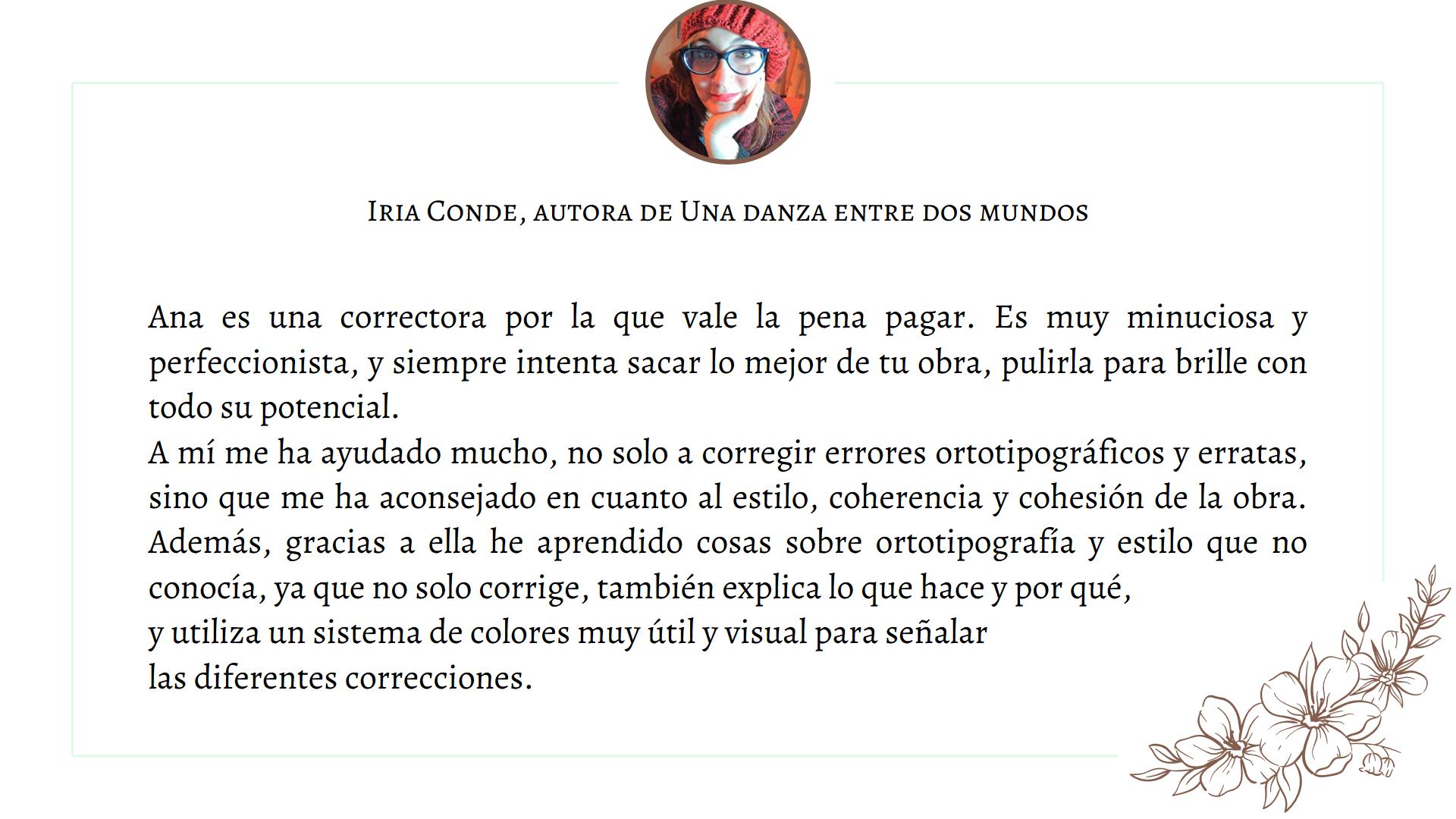 Testimonio Iria Conde