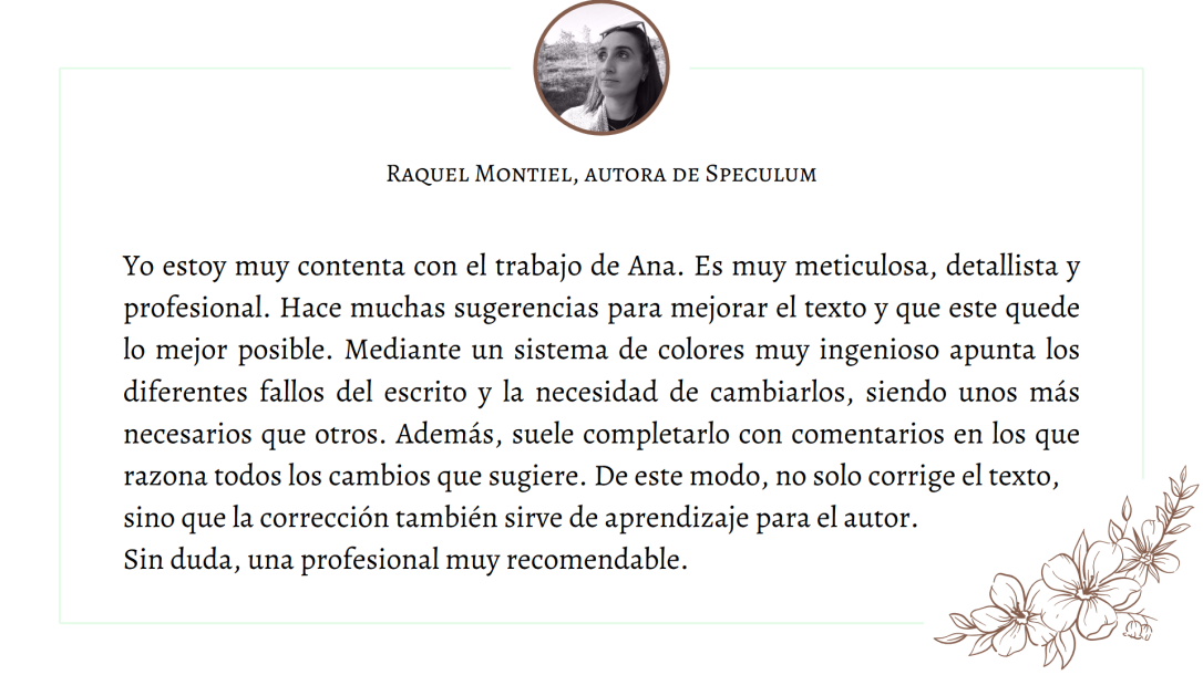 Testimonio Raquel Montiel